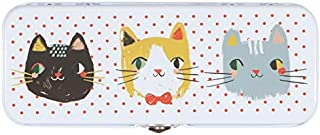 Petali Tea Inspired Home and Garden Danica Studios Pencil Box, Meow Meow