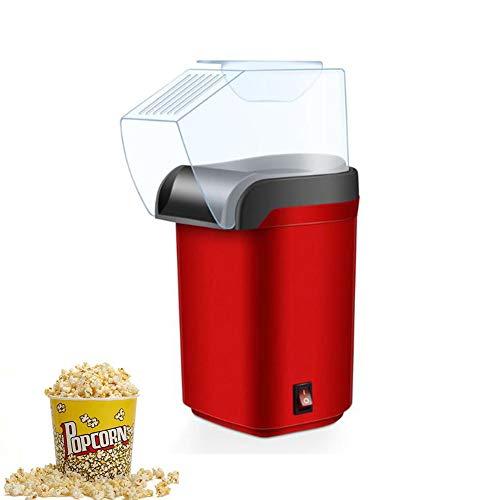 Elektrische Popcornmaschine, Fettfrei Retro Design, Heiße Luft Mit Messbecher, Abnehmbarer Deckel Zum Zuhause, Party Kino