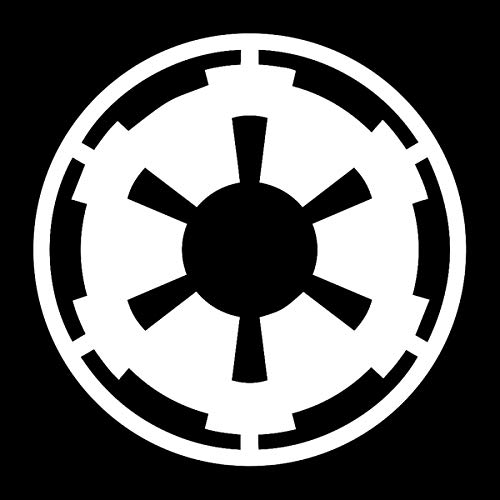 EvolveFISH SW Imperial Galactic Empire Weatherproof Vinyl Decal - [White][5']