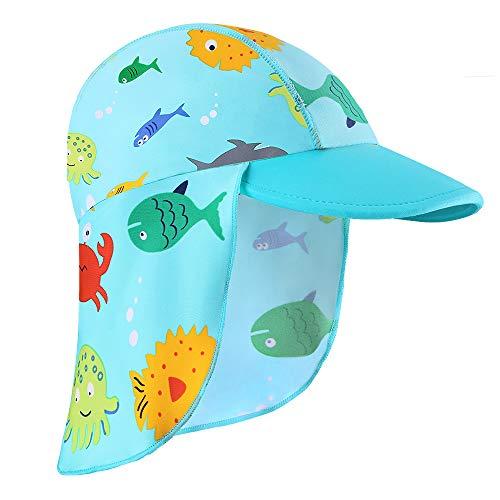 HUAANIUE kinderen Een Stuk Badpakken zwemkleding badkleding badmode UPF 50+ UV-bescherming 0-6 jaar oud