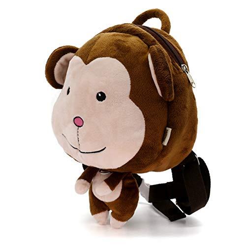 Mochila con arnés de seguridad para bebés y niños con correa de dibujos animados para el hombro, mochila para peatones con arnés de correa, cinturón de fijación ( 1-3 años de edad)