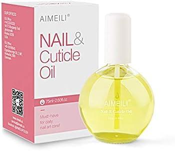 Aimeili Natural Cuticle Skin Care Nail Moisturizer, 75ml