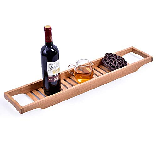 HZP Bamboe badkuiprek Caddy plank douchebak boekenplank standaard badkamerplank badkamerplank standaard