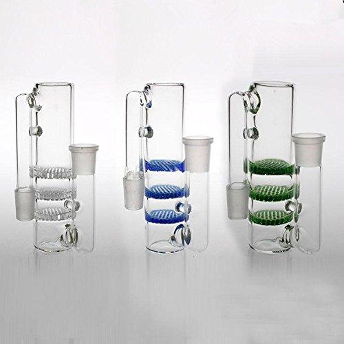RORA populaire mini glas olie brander Rig 14cm hoge as vanger hookah-pijp roken filter kleine bongs buis