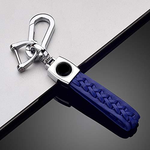 Cubierta de la Caja de la Llave remota del Coche de TPU Fob para Peugeot 208 2008308 3008408508107301 Citroen C4 Cactus C5 DS4 DS5 Accesorios Llavero Azul