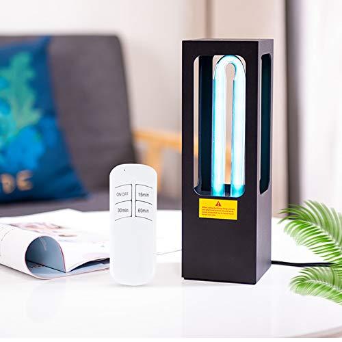 26W ultraviolette sterilisatielamp, draagbare intelligente afstandsbediening desinfectielamp met ozon quartz buis, gebruikt in de auto thuis koelkast toilet huisdier gebied, etc.