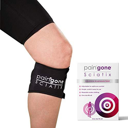 Paingone SCIATIX | Alivia el dolor de espalda y el dolor causado por la ciática | Ajustable y facil de usar