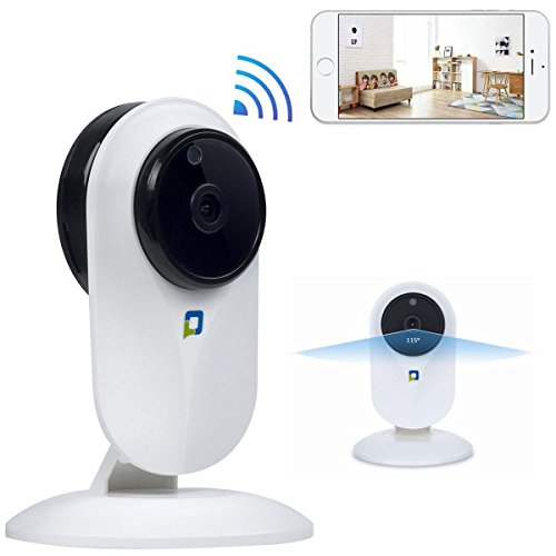 HD 1080P WiFi Security Camera Baby Monitor Camera with Night Version Motion Dection Two-Way Audio