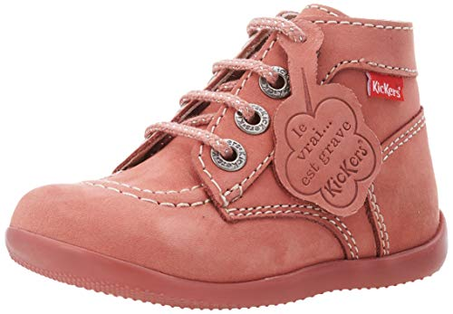 Kickers 571983-10-131, Unisex Baby Lauflernschuhe, Pink (Rose Clair Perm 131), 20 EU