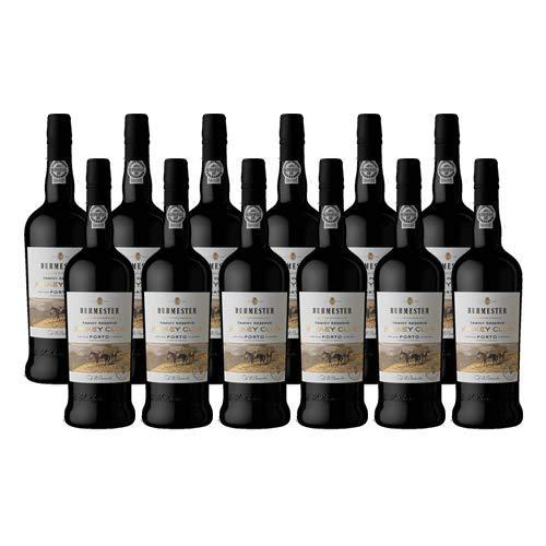 Vino de Oporto Burmester Jockey Club Reserva - Vino Fortificado- 12 Botellas