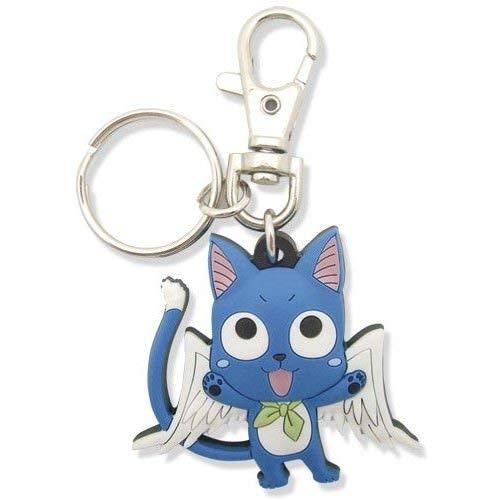 Great Eastern Entertainment Fairy Tail SD Happy Porte-clés en PVC