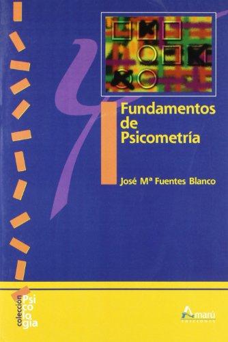 Fundamentos de psicometría (Psicología)