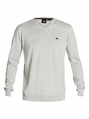 Quiksilver Men's Kelvin Sweater, Light Grey Heather, Small