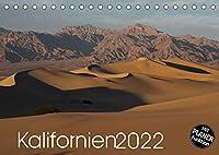 Kalifornien 2022 (Tischkalender 2022 DIN A5 quer): Die faszinierenden Landschaften Kaliforniens - die wilde Kueste des Pazifik, die Berge der Sierra Nevada, aber auch die Wuesten und Felsformationen im Landesinneren werden Sie begeistern. (Geburtstagskalender, 14 Seiten )
