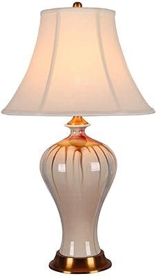 Lámparas de escritorio Lámpara de mesa de cerámica celebración de ...