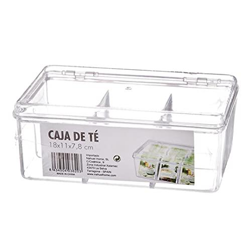 Caja Te Infusiones Plastico 18 cm