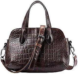 Ai-yixi klassisk design Kvinnors New Top Layer Leather Shoulder Slung Handbag Texture Fashion Minikirt Bag Perfekt vild (C...