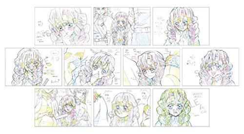 鬼滅の刃 キャラクター絵巻カフェ 展示原画ポストカード 甘露寺蜜璃 セット