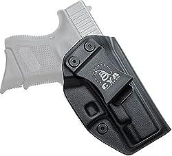 cheap CYA Supply Co. Fits Glock 26/27/33 Gen3-5 Inner Belt Holster Hidden Carrying Comfort for IWB Veterans…