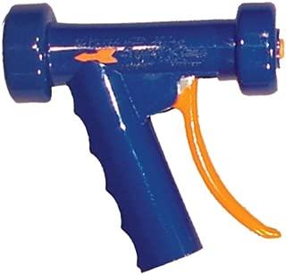 SuperKlean 150A-LB Pistol Grip Spray Nozzle, Aluminum, 1/2 NPT, Light Blue