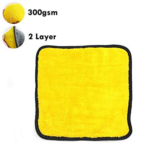 Mdsfe microvezel-handdoek, voor het wassen van de auto, extra zacht, 30 x 30 cm, voor het wassen van de auto, voor het wassen, niet krassen. a109 One Towel-a109