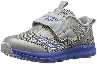 Saucony Baby-Boy's Liteform Sneaker, Grey, 5.5 Wide US Toddler
