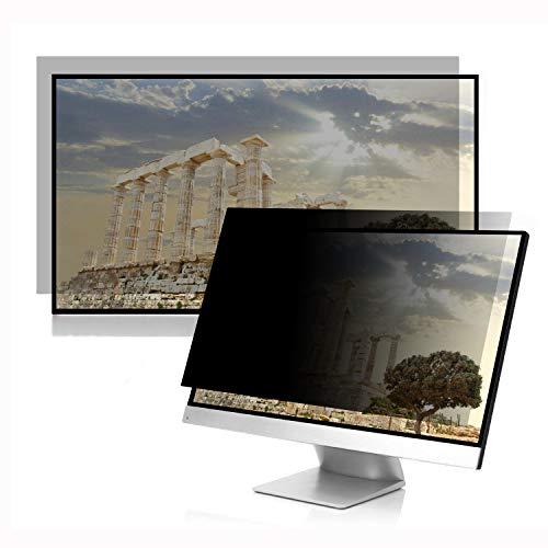 C1st Blickschutzfolie, 19 Displayfilter 16:10 Blickschutzfilter für Breitbild Computermonitore, Sichtschutz Displayschutz Privacy Screen Filter (19