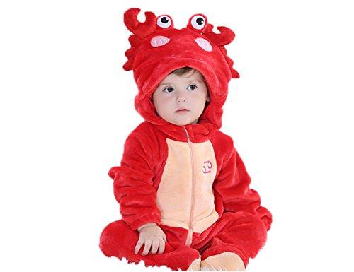 OHmais Bébé Fille garçon Unisexe Grenouillère Costume Deguisement Combinaison Pyjamas Hiver Homeboy