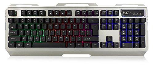 Ewent Play PL3311 Italiaans toetsenbord met membraan, anti-ghosting, 1,5 m