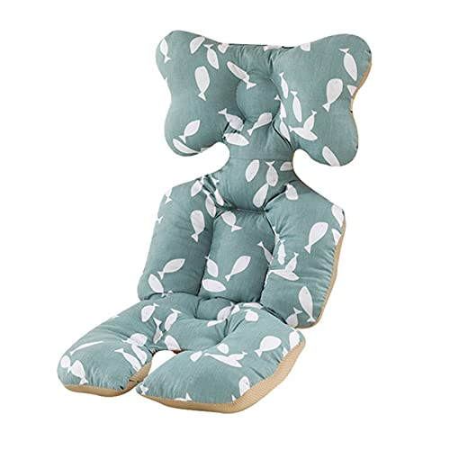NBEEGFG Cojín de algodón para cochecito de bebé, colchoneta cálida, cojín para dormir, cojín para silla de paseo (color: 1)