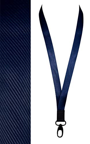 Neck Lanyard | Cool, Lanyard for Keychain/ID/Badge/Name Tag | Navy