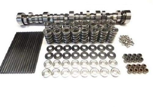 BTR Brian Tooley Twin Turbo Stage 3 Cam Includes Springs and 7.400 Chromoly Pushrods 4.8 5.3 5.7 6.0 6.2 LS1 LS3 LSX (Camshaft and Spring Set)