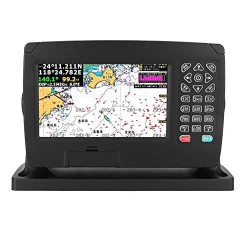 Marine GPS-Kartenplotter, 7-Zoll-Farbanzeige Reichlich vorhandene Kartendaten GPS-Navigation, mehrere Funktionen 10.000 Wegpunkte Marine Navigator, aktualisierbarer GPS-Navigations-Locator mit Karte