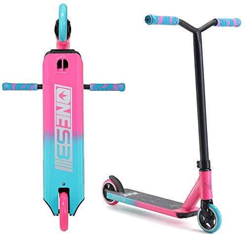 Patinete Blunt One S3 Stunt-Scooter H = 78 cm Park Trick Tret Roller + pegatina Fantic26 (rosa/turquesa)
