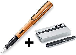 LAMY AL-Star (Medium Nib) Bronze Fountain Pen 2019 Limited Edition + 5 Black Ink Cartridges