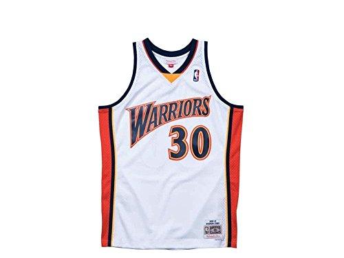 Mitchell & Ness Classic Swingman #30 Stephen Curry Basketballtrikot Herren weiß/rot, XL