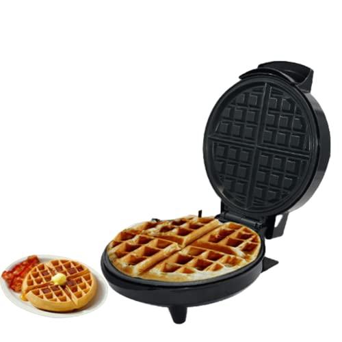 Gofrera Eléctrica, Máquina Para Hacer Gofres, Waffle Maker Con Placas Duales Antiadherente, Control De Temperatura Ajustable, 1000 W