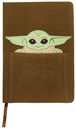 Cerdá Life's Little Moments Notizbuch A5 Baby Yoda Child The Mandalorian - Offizielle Lizenz Star Wars, Kinder, mehrfarbig, Standard