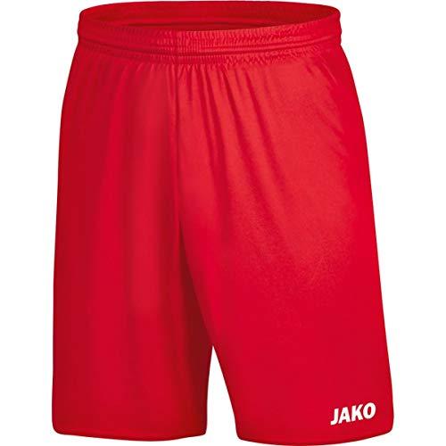 Jako Damen Sporthose Manchester 2.0, Rot, 42-44, 4400D