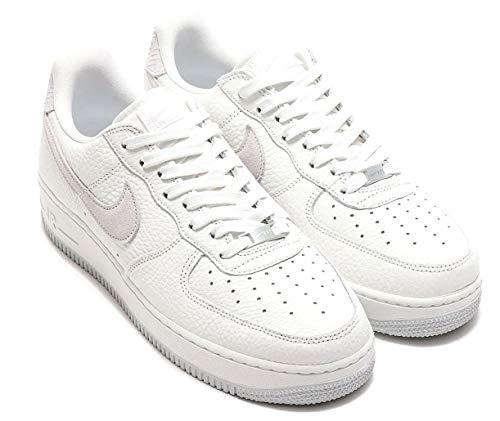 Nike Air Force 1 '07 Craft, Zapatillas de básquetbol para Hombre, White White Summit White Vast Grey, 43 EU