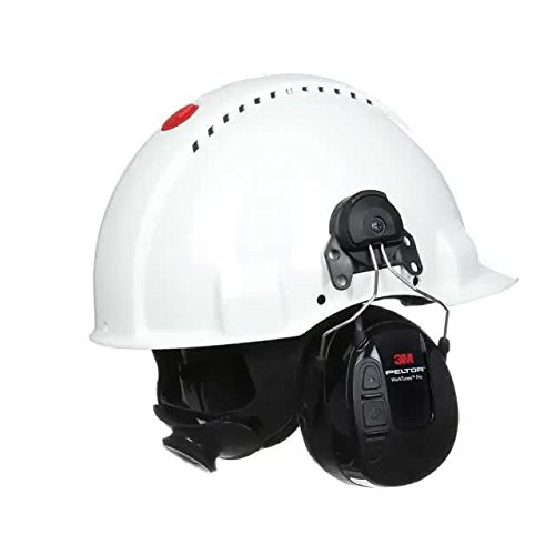 3M Peltor WorkTunes Pro FM Radio Gehörschutz, 32dB - Zuverlässiger Ohrenschutz mit integriertem Radio - Ideal für Forst-, oder Landarbeit und lärmintensive Freizeitaktivitäten - 3