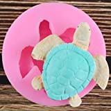 SUNSK Meeresschildkröte Form Silikonform Kuchen Fondant Paste DIY Schildkröte...