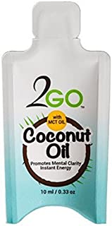 Coconut MCT Oil Packets for Travel (15 Shots)
