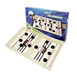 Juego rápido de cabestrillos Juego de mesa Ganador de batalla Juego de hockey, juego de mesa de hockey, juego de mesa de madera para adultos Padres-Hijo, juego de mesa interactivo de ajedrez
