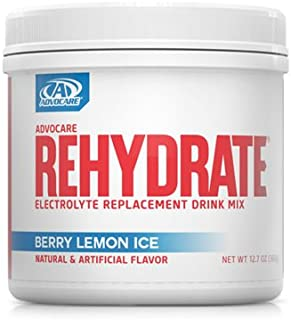 Advocare Rehydrate Electrolyte Replacement Drink Mix - Berry Lemon Ice