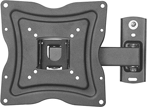 "ONN Full-Motion Wall Mount for 10""- 50"" TVs with Tilt and Swivel Articulating Arm and HDMI Cable (UL Certified)"