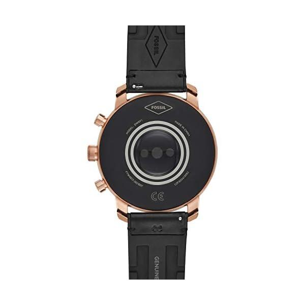 Fossil Smartwatch Pantalla táctil para Hombre de Connected con Correa en Piel FTW4017 5
