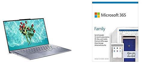 ASUS ZenBook S13 UX392FN 13.9 Inch Full HD Laptop (Intel i7-8565 Processor, 512GB PCI + Microsoft 365 Family | Box