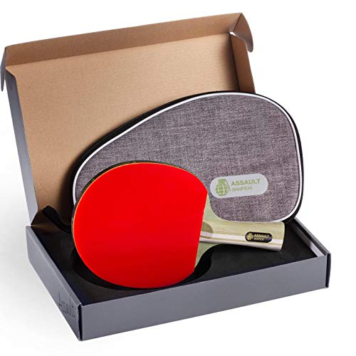 Review Of Assault Ping Pong Paddle with Carrying Bag
