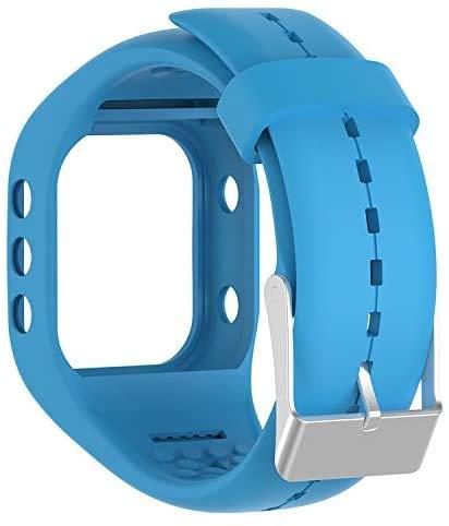 Tyogeephy Correa de Reloj Compatible con Polar A300, Silicona Banda de Reemplazo Pulsera para Polar A300 Watch